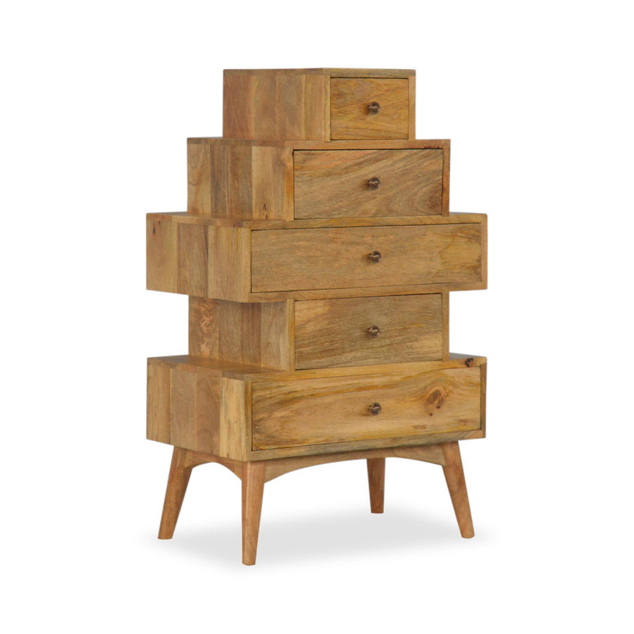 mango wood Chest of Drawers