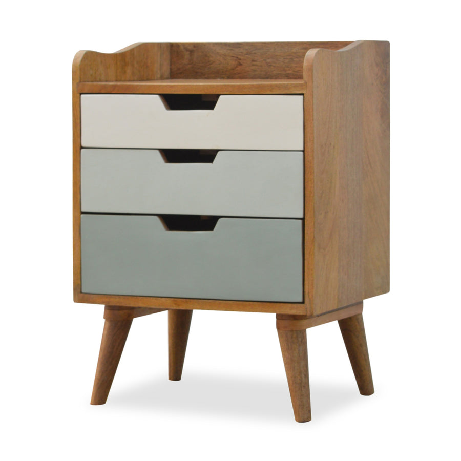 Contemporary Bedside Table with drawers