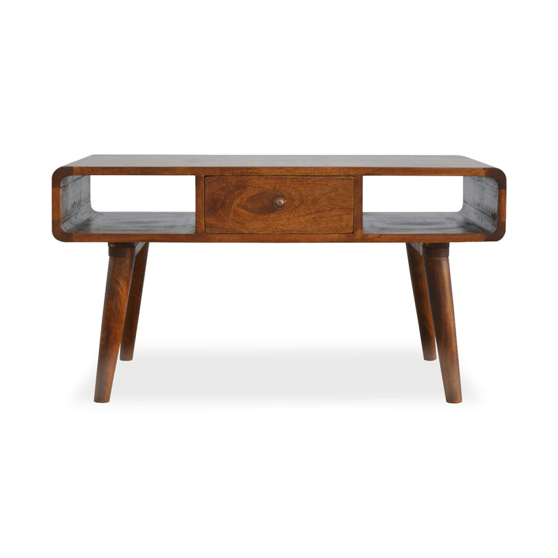 Dark Wood Coffee Table