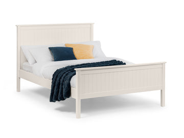 Maine Bed - Stone White