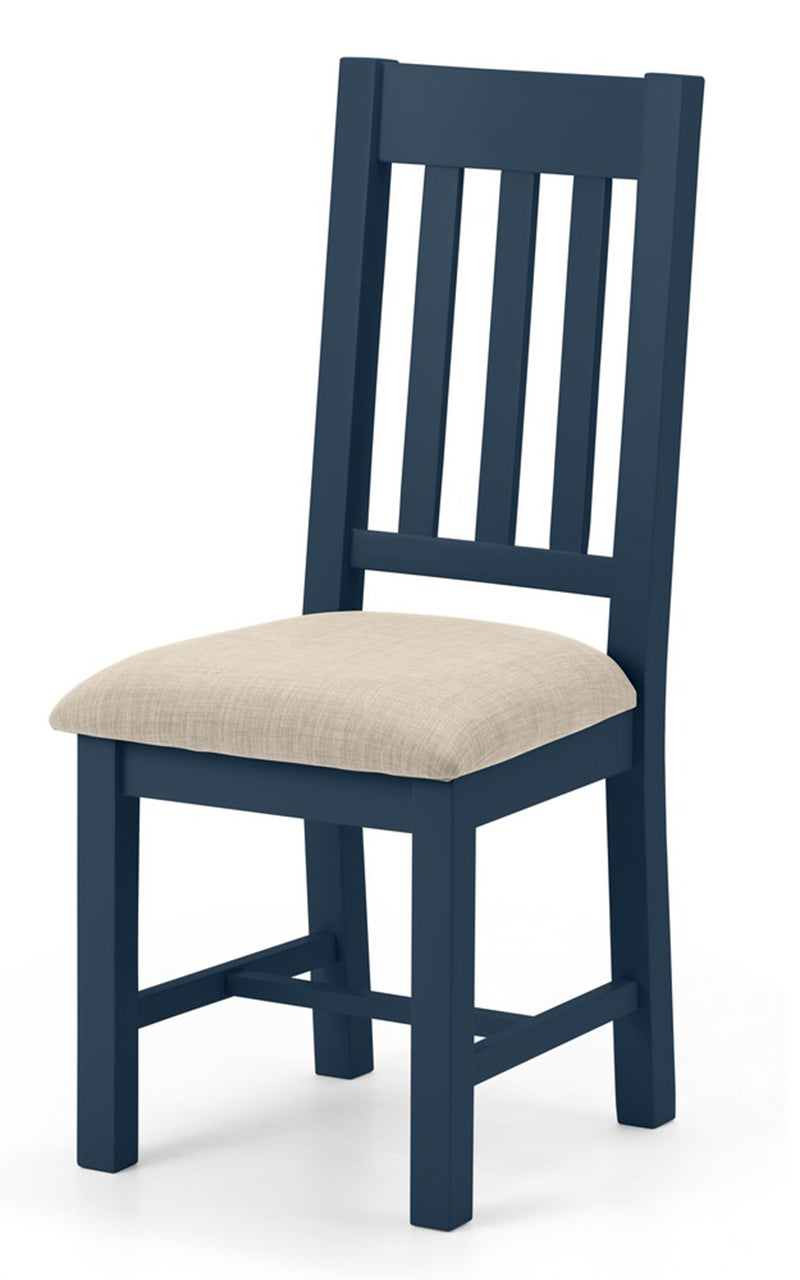 RICHMOND DINING CHAIR - MIDNIGHT BLUE