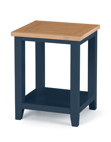 RICHMOND SIDE TABLE - MIDNIGHT BLUE