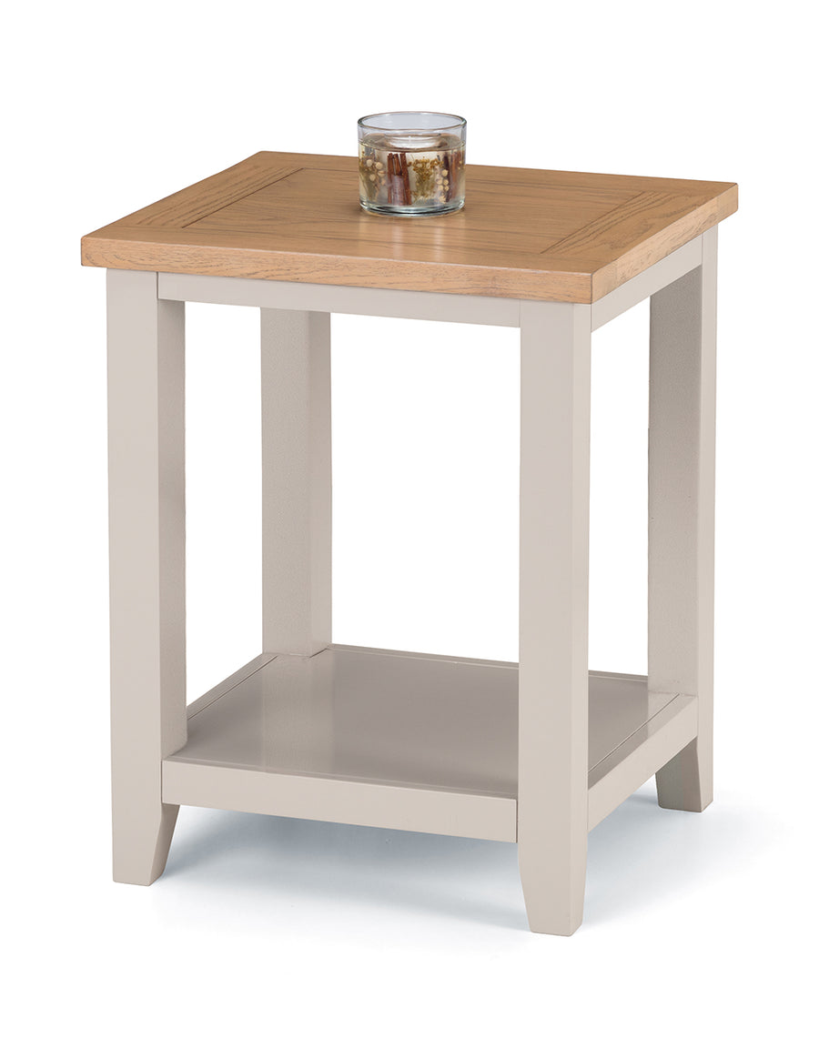 RICHMOND SIDE TABLE - ELEPHANT GREY
