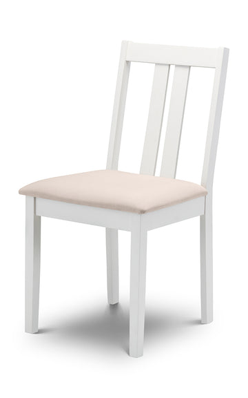 RUFFORD DINING CHAIR - WHITE