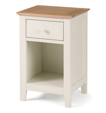 SALERNO TWO TONE BEDSIDE