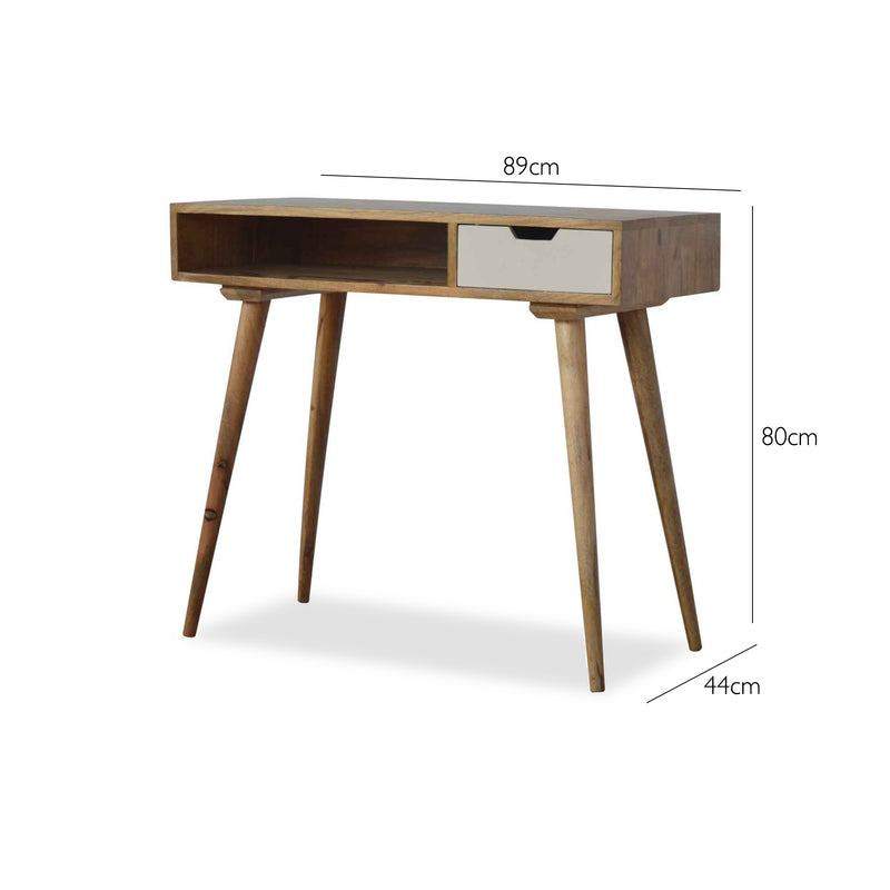 Scandinavian Style Desk with drawer