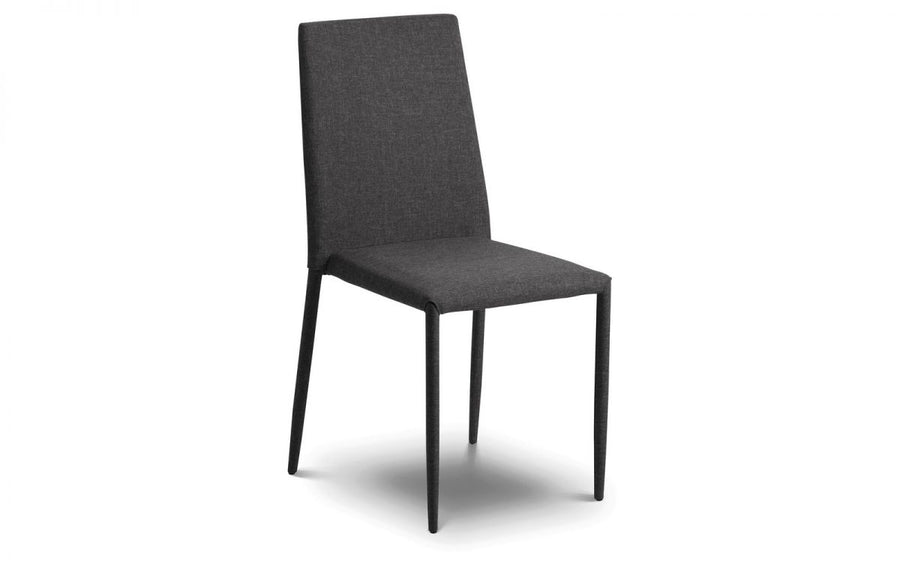 JAZZ STACKING CHAIRS - SLATE GREY