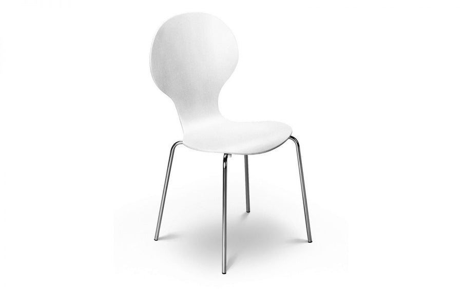 KEELER CHAIR- WHITE