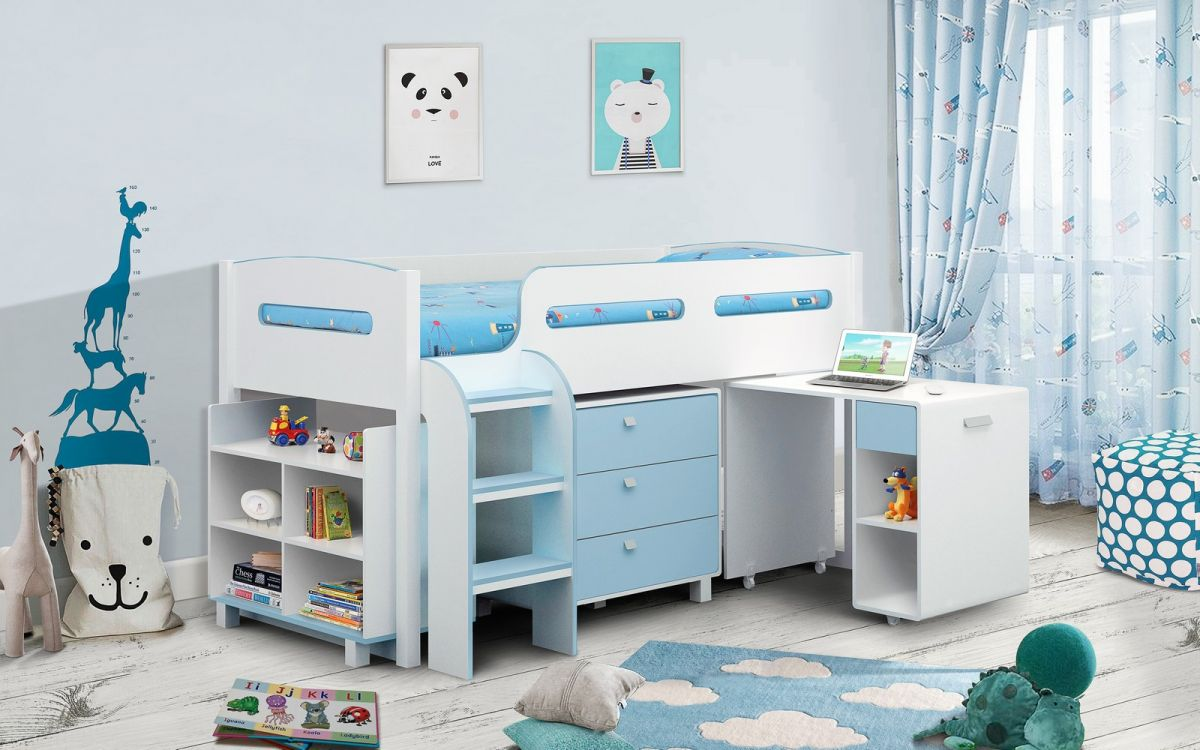 KIMBO BED - BLUE