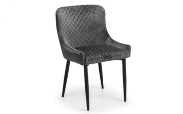LUX CHAIR - VELVET BLACK