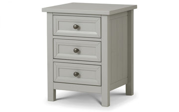MAINE BEDSIDE - DOVE GREY