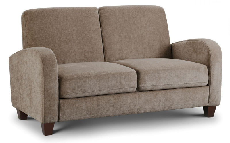 Vivo 2 Seater Sofa in Mink Chenille