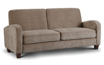 Vivo 3 Seater Sofa in Mink Chenille