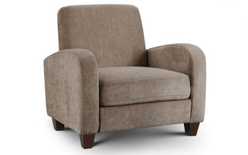 Vivo Chair in Mink Chenille