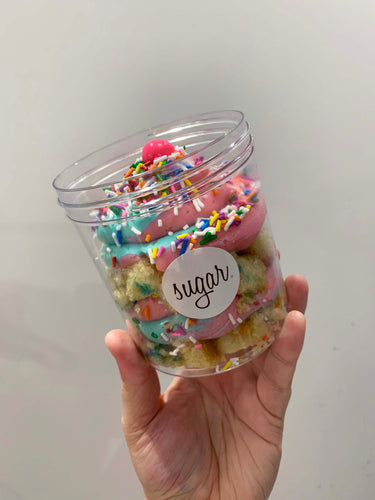 bubble gum cake jar