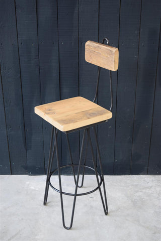Reckage Hairpin Bar Stool