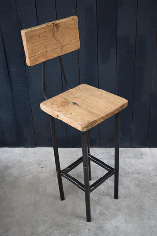 Reckage Industrial Bar Stool