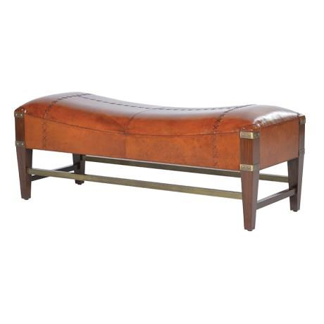 Leather Jaipur Bench