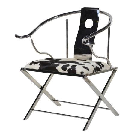 Cowhide Quan Chair