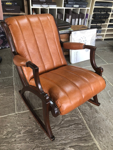 leather upholstrey project
