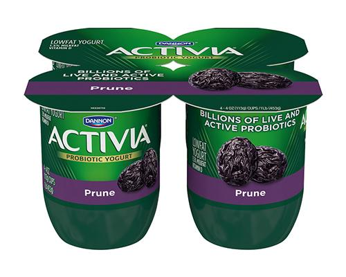 Activia Yogurt Prune - 4pk