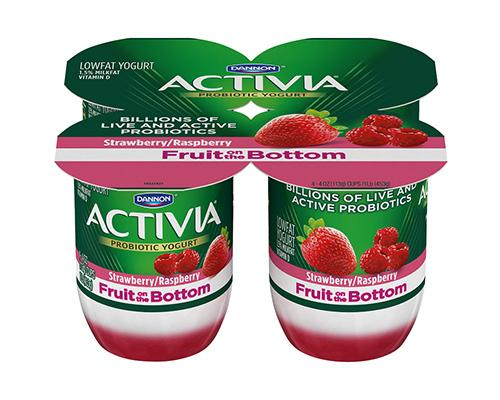 Activia Yogurt Rasberry - 4pk
