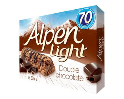 Alpen Light Double Chocolate - 5 ct