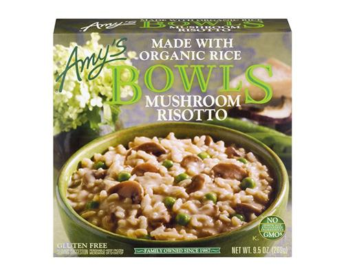 Amy's Bowl Mushroom Risotto with Organic Rice Gluten Free
