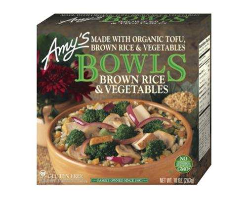Amy's Bowl Organic Tofu Brown Rice & Vegetables