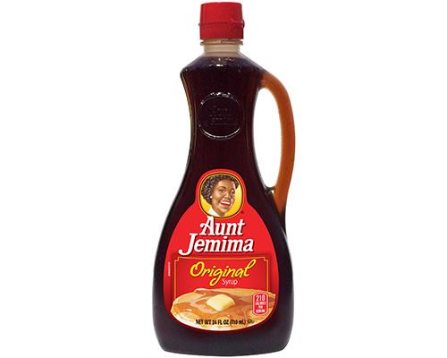 Aunt Jemima Lite Pancake Syrup-Butter