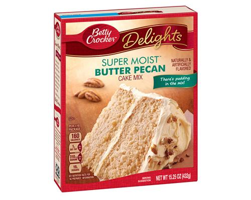 Betty Crocker Butter Pecan Cake Mix