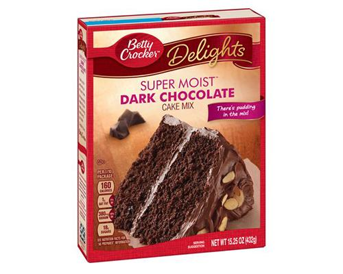 Betty Crocker Dark Chocolate Cake Mix