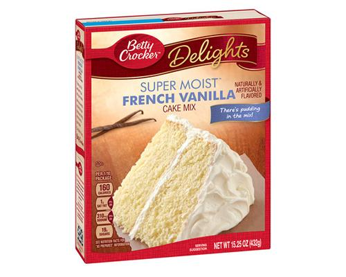 Betty Crocker French Vanilla Cake Mix