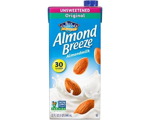 Blue Diamond Almond Breeze Milk Original Unsweetened