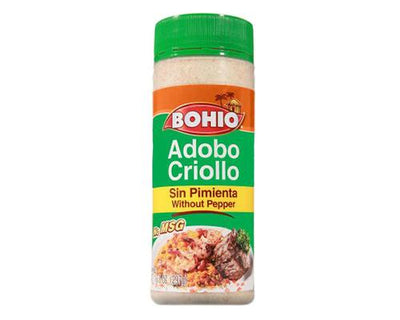 Bohio Adobo All Purpose Seasoning Without Pepper