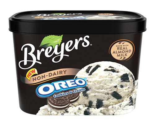 Breyers Ice Cream - Oreo with Almond Milk