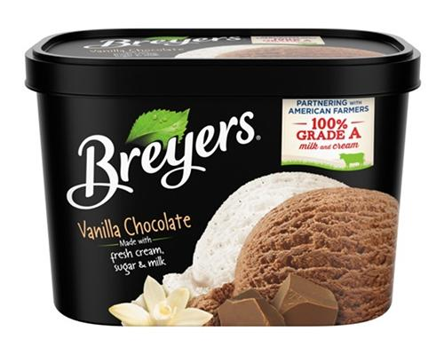 Breyers Ice Cream Vanilla Chocolate