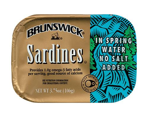 Brunswick Sardines in Water