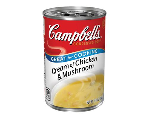 Campbell's Cream of Chicken & Mushroom
