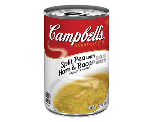 Campbell's Split Peas with Ham & Bacon