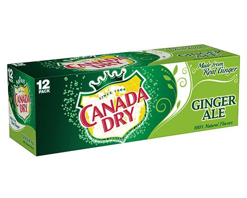 Canada Dry Ginger Ale - Can 12pk