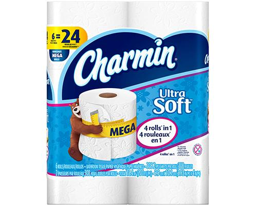 Charmain Toilet Paper - 6 ct