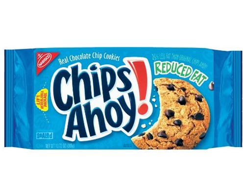 Chips Ahoy Reduced Fat