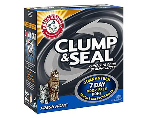 Clump & Seal Complete Odor Litter - Fresh Home
