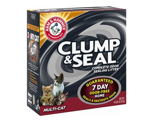 Clump & Seal Complete Odor Sealing Litter - Multi Cat