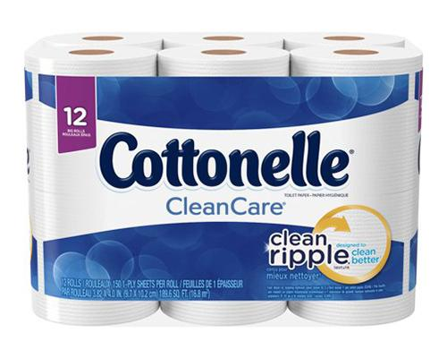 Cottonelle Toilet Paper - 12 ct
