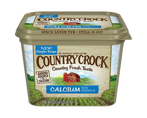 Country Crock Butter Calcium