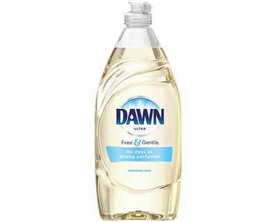 Dawn Dish Liquid Free & Gentle