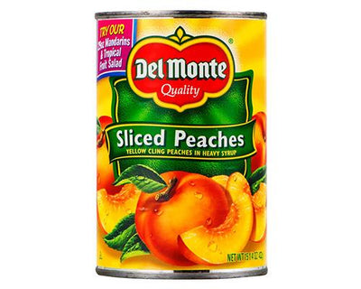 Del Monte Sliced Peaches