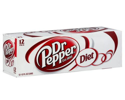 Diet Dr Pepper - Can 12pk